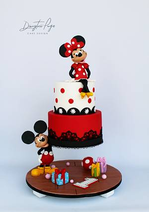 Minnie mouse Gravity Cake - Cake by Dmytrii Puga