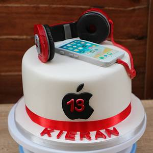Iphone lover - Cake by Zcakes