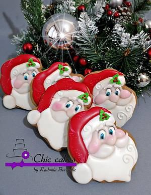 Gingerbread Santa  - Cake by Radmila
