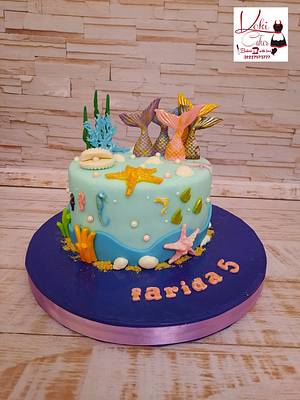 """Mermaid Tail cake"" - Cake by Noha Sami"