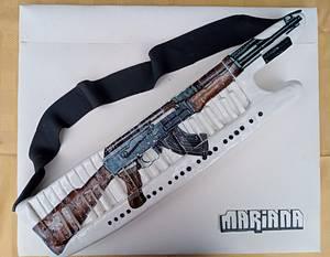 Torta teclado - Cake by Yesiyodra90