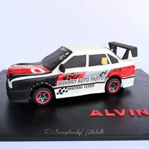 3D Volvo 850 car cake - Cake by Michelle Chan