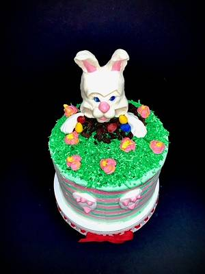 Easter Bunny Cake - Cake by Sharp Sweets