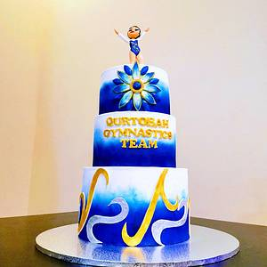 Gymnastics cake - Cake by Cakeandmore2020