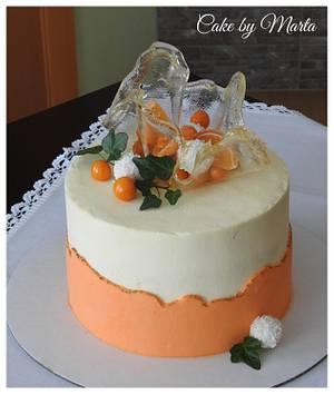 Fault line cake - Cake by MartaMc