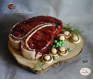 T-Bone Steak Cake  - Cake by Eve´s Zucker-Himmel