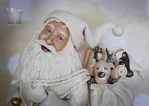 Santa Claus Is Coming to Town….. - Cake by Anna Mathew Vadayatt