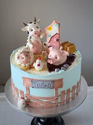 Farm cake - Cake by Ako cukor sladká