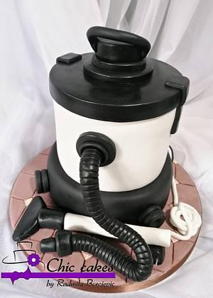 Cake vacuum cleaner - Cake by Radmila