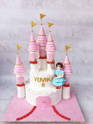 Castle cake  - Cake by Razia