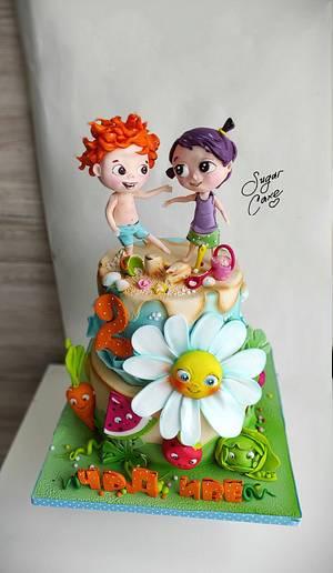 Margaritka - Cake by Tanya Shengarova