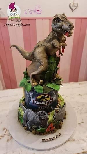 Tirannosaurus Rex - Cake by Sara Stefanelli