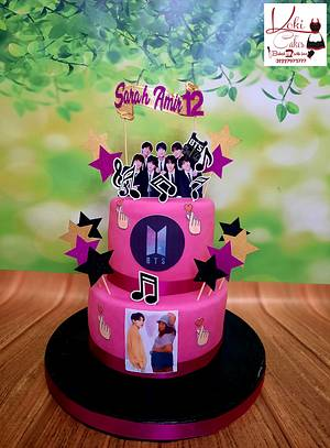 """BTS music team cake"" - Cake by Noha Sami"