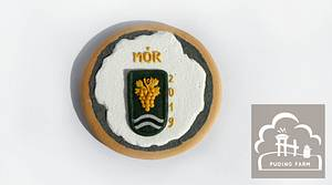 Mór - Coat of arms - Cake by PUDING FARM