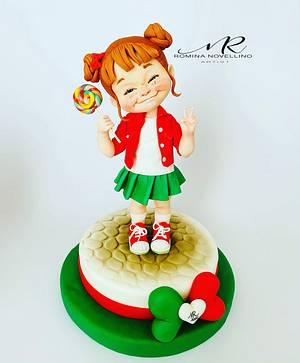 Andrà tutto bene ❤️ - Cake by Romina Novellino