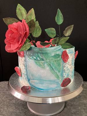 Rose - Cake by Snezhana