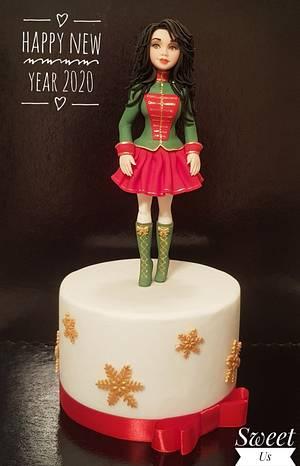 Happy New Year 2020!!!  - Cake by Gabriela Doroghy