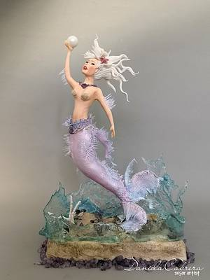 In the realm of mermaids a journey through the fantasy  - Cake by daniela cabrera