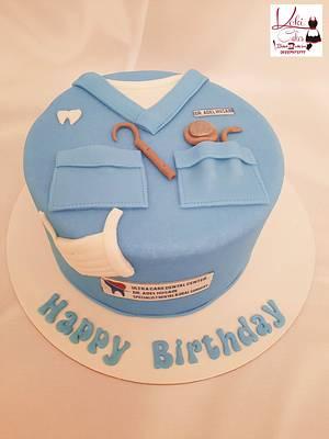 """Dentist cake"" - Cake by Noha Sami"