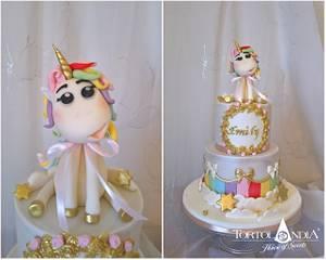 Sweet unicorn for Emily - Cake by Tortolandia