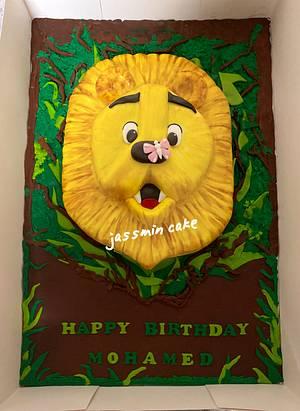 #Lion cake - Cake by Jassmin cake in Egypt