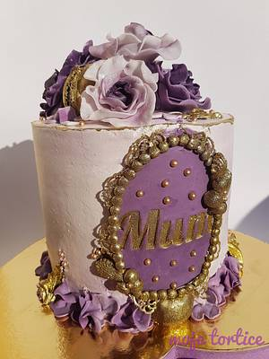 Mum - Cake by My little cakes