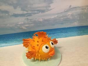 Pufferfish - Cake by Margie