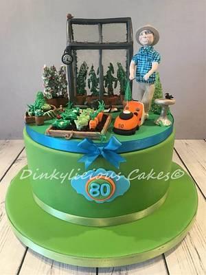 Ben's Garden Cake - Cake by Dinkylicious Cakes