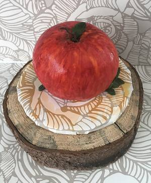 """Little Apple 🍎 Cake - Cake by June (""""Clarky's Cakes"""")"""