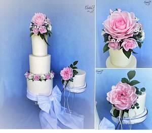 Wedding cakes - Cake by AnkaP