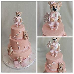 Teddy bears - Cake by Anka
