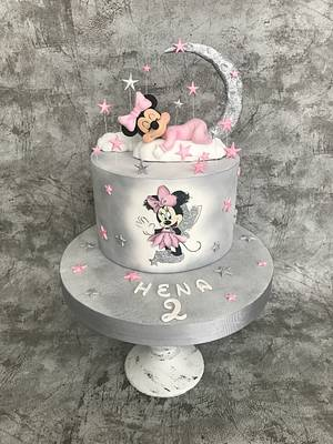 Baby minnie mouse - Cake by Alinda Cake
