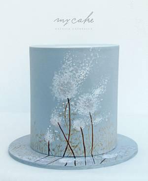 Torta flor diente de león - Cake by Natalia Casaballe