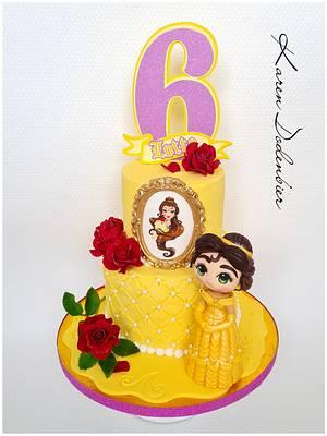 Belle ... Beauty and the Beast! - Cake by Karen Dodenbier