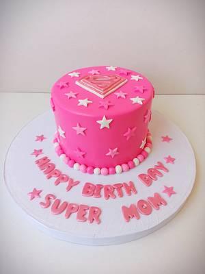 Super mom - Cake by Maysa