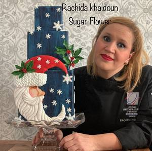 Cake Santa Claus 🎅  - Cake by Rachida sugar flower