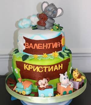 Jungle cake  - Cake by Zcakes
