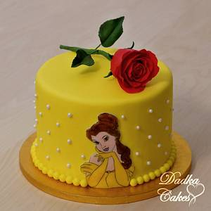 Beauty and the Beast - Cake by Dadka Cakes