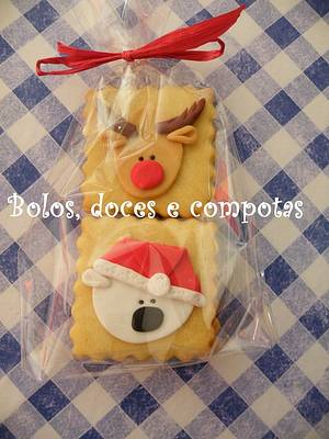 Christmas cookies - Cake by bolosdocesecompotas