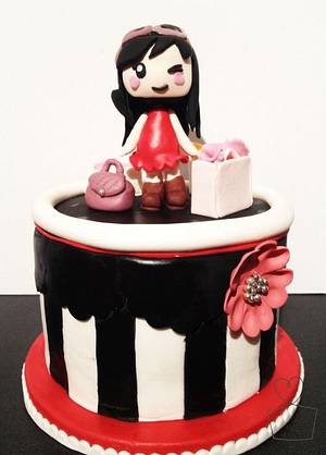 Shopaholic Birthday Cake - Cake by Heidi