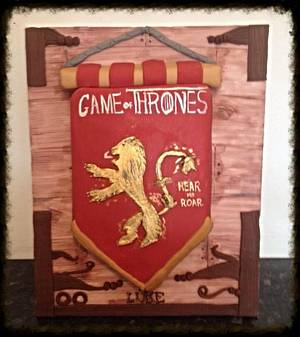 Team lannister  - Cake by Marie