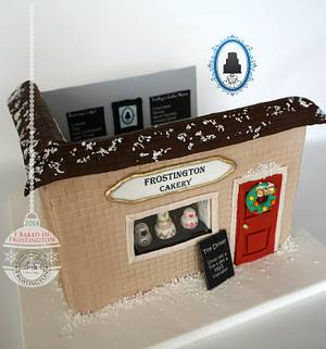 The Frostington Cakery - Cake by Slice of Sweet Art