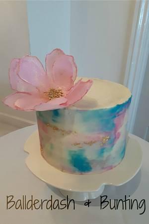 Watercolour Buttercream - Cake by Ballderdash & Bunting