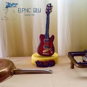 Sweet Rock! - Cake by ElphicBlu Sugar Ing