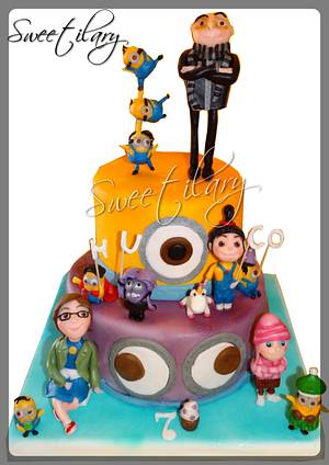 Despicable me end minions!!! - Cake by Ilaria