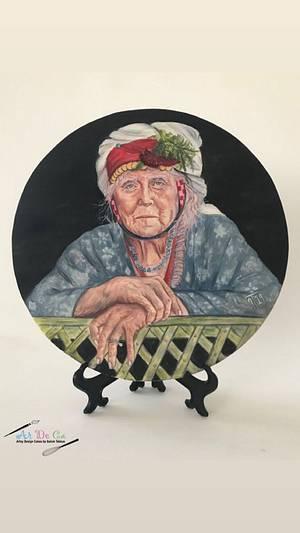 The Lady from Comakdag (Turkey) - Cake by Gulcin Tekkas