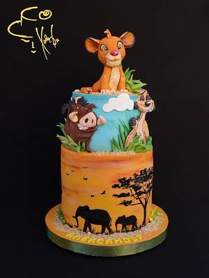 Lion king  - Cake by Diana