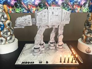 Star Wars AT-AT walker cake.  - Cake by Cakes for mates