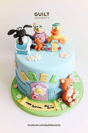 Timmy Time! - Cake by Guilt Desserts