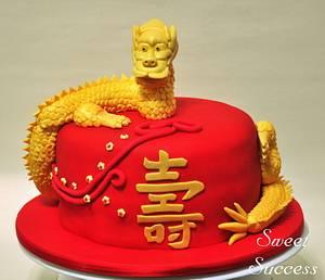 Dragon Cake - Cake by Sweet Success